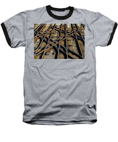 Tracks Of Abandon Baseball T-Shirt