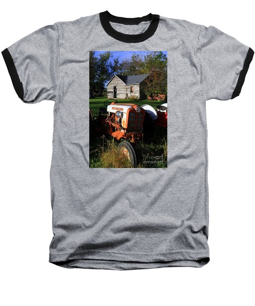 Tractor And Shed Baseball T-Shirt