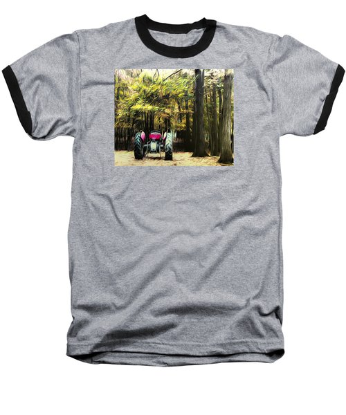 Tractor Baseball T-Shirt