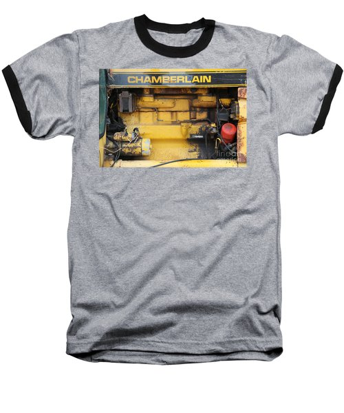 Baseball T-Shirt featuring the photograph Tractor Engine Iv by Stephen Mitchell