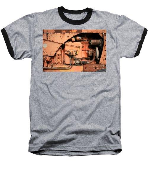 Tractor Engine V Baseball T-Shirt