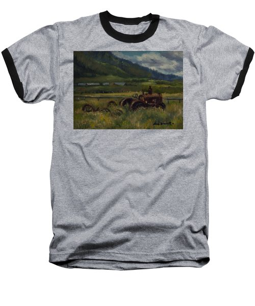 Tractor From Swan Valley Baseball T-Shirt