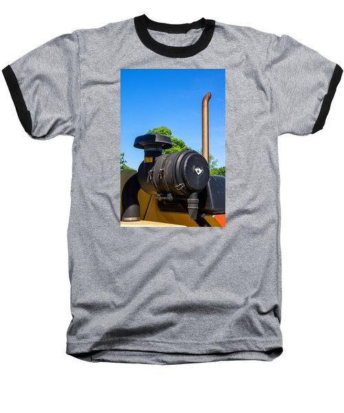 Tractor Pipe Baseball T-Shirt