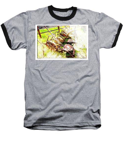 Tractor Seats Baseball T-Shirt
