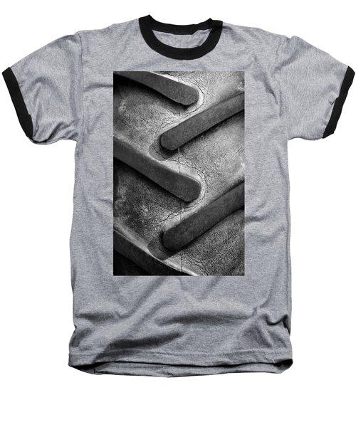Tractor Tread Baseball T-Shirt