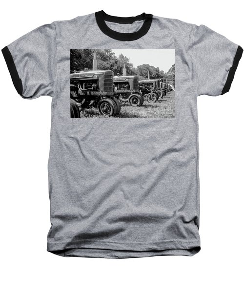Baseball T-Shirt featuring the photograph Tractors by Brian Jones