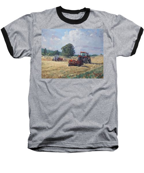 Tractors In The Farm Georgetown Baseball T-Shirt