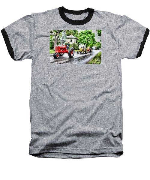 Tractors On Parade Baseball T-Shirt