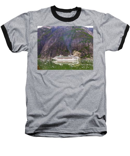 Baseball T-Shirt featuring the photograph Tracy Arm Fjord by Jim Mathis