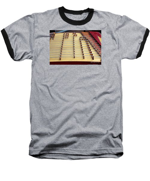 Traditional Chinese Instrument Baseball T-Shirt by Yali Shi