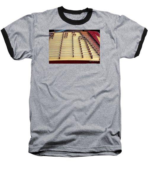 Traditional Chinese Instrument Baseball T-Shirt by Yali Shi