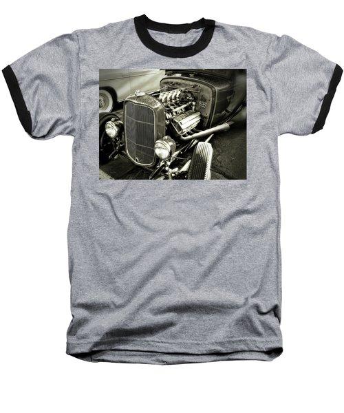 Traditional Hemi Bw Baseball T-Shirt