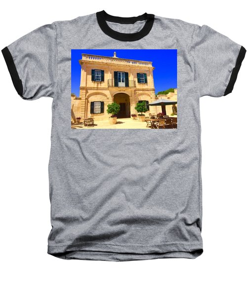 Traditional Menorcan Farmhouse Baseball T-Shirt