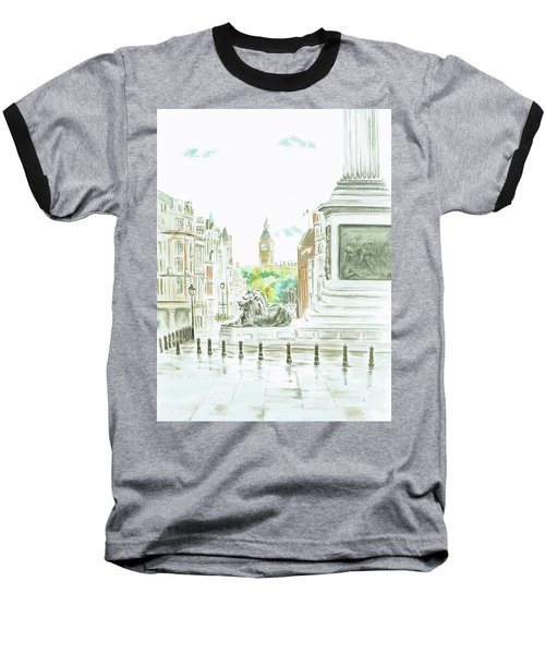 Trafalgar Square Baseball T-Shirt