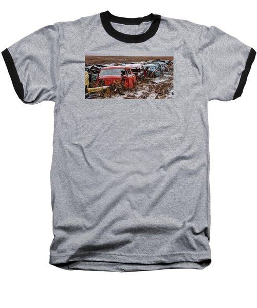 Traffic Jam Baseball T-Shirt