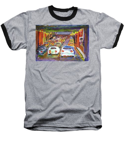 Traffic Jam Baseball T-Shirt