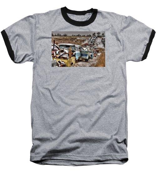 Traffic Zone Baseball T-Shirt