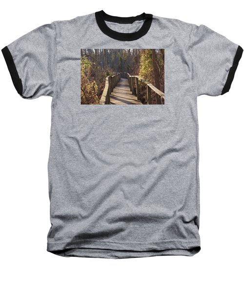 Trail Bridge Baseball T-Shirt