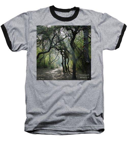 Trail Of Light Baseball T-Shirt