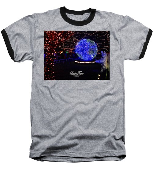Trail Of Lights World #7359 Baseball T-Shirt