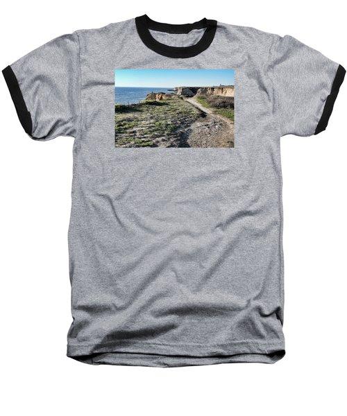 Trail On The Cliffs Baseball T-Shirt