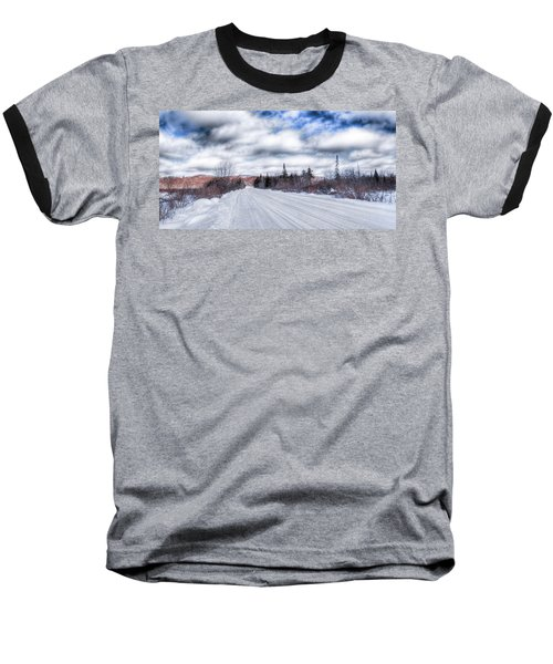 Trail One In Old Forge 2 Baseball T-Shirt