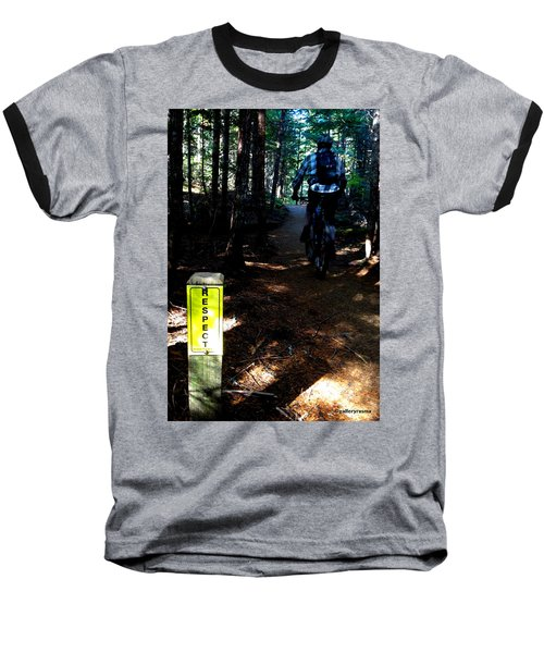 Trail Respect Baseball T-Shirt