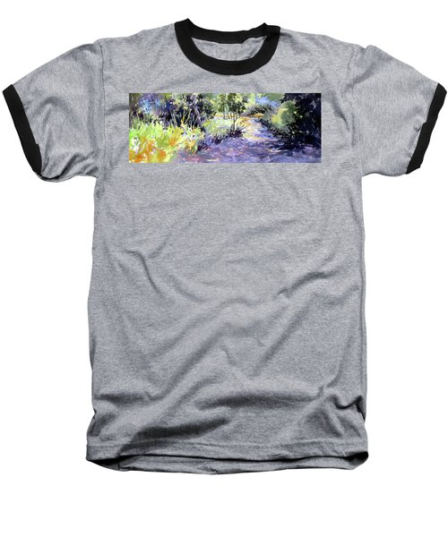 Trail Shadows Baseball T-Shirt