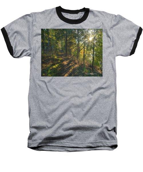 Trail Baseball T-Shirt by Tim Fitzharris