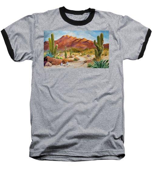 Trail To The San Tans Baseball T-Shirt