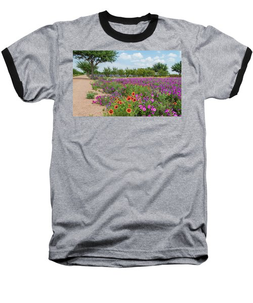 Trailing Beauty Baseball T-Shirt