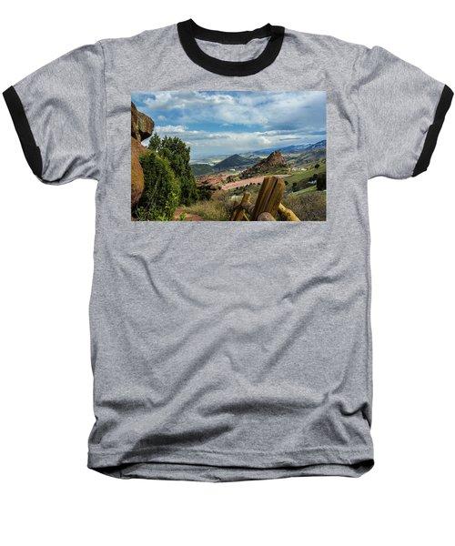 Trails At Red Rocks Baseball T-Shirt
