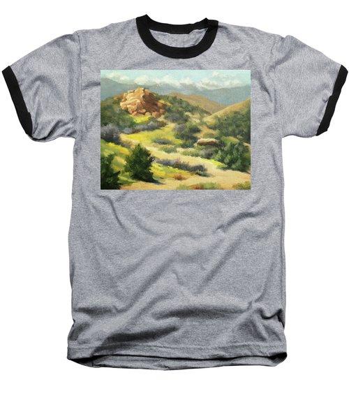Trails Of Vasquez Canyon Baseball T-Shirt