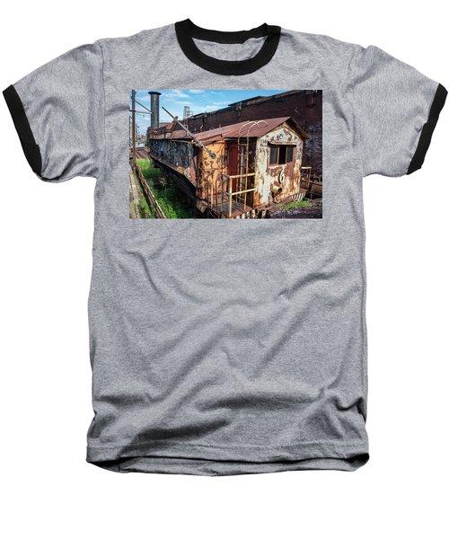 Train 6 In Color Baseball T-Shirt