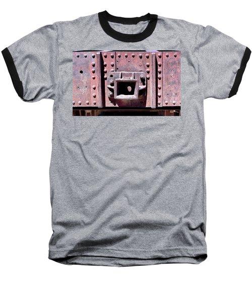 Train Abstract No. 9-1 Baseball T-Shirt