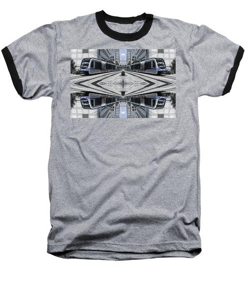 Baseball T-Shirt featuring the photograph Train by Brian Jones