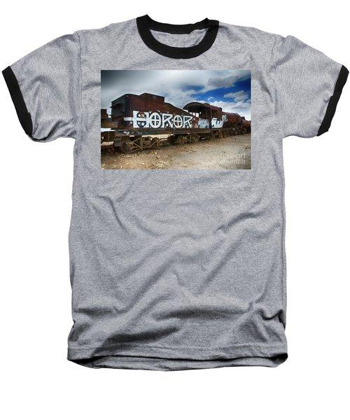 Train Graveyard Uyuni Bolivia 13 Baseball T-Shirt