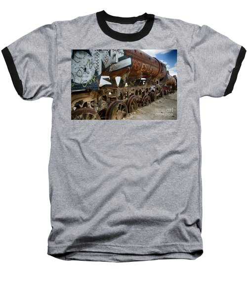 Train Graveyard Uyuni Bolivia 14 Baseball T-Shirt