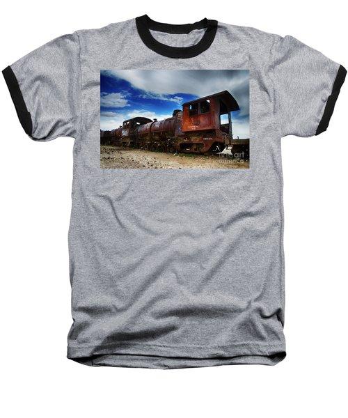 Train Graveyard Uyuni Bolivia 15 Baseball T-Shirt