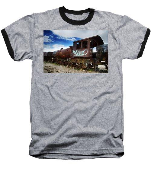 Train Graveyard Uyuni Bolivia 16 Baseball T-Shirt