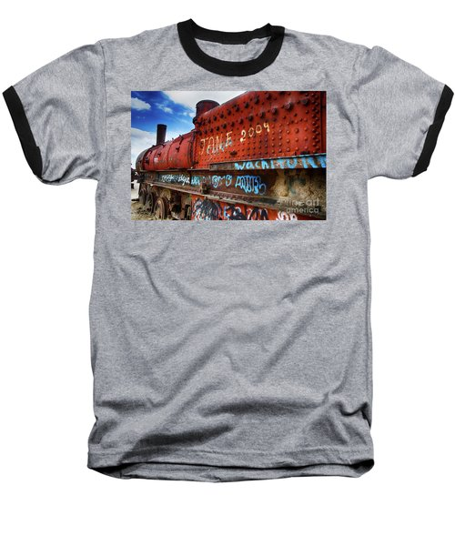Train Graveyard Uyuni Bolivia 17 Baseball T-Shirt