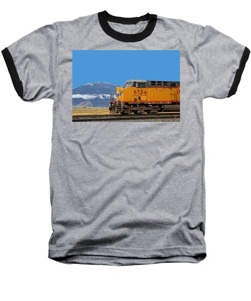 Train In Oregon Baseball T-Shirt