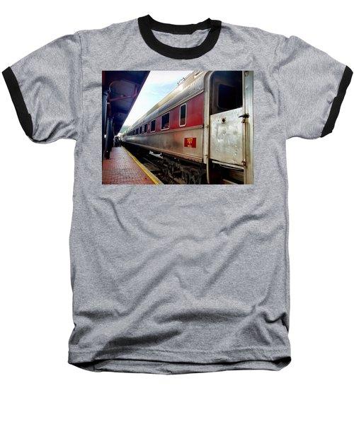 Train Station Baseball T-Shirt
