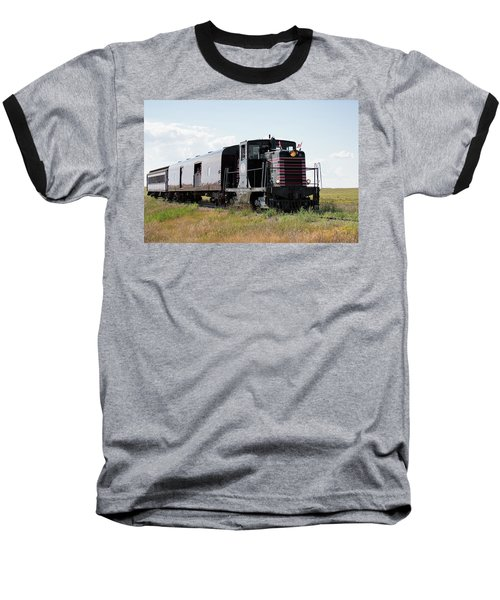 Train Tour Baseball T-Shirt