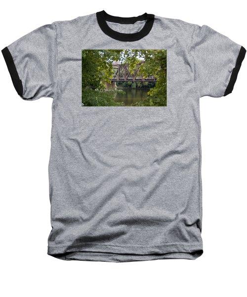 Train Trestle Baseball T-Shirt