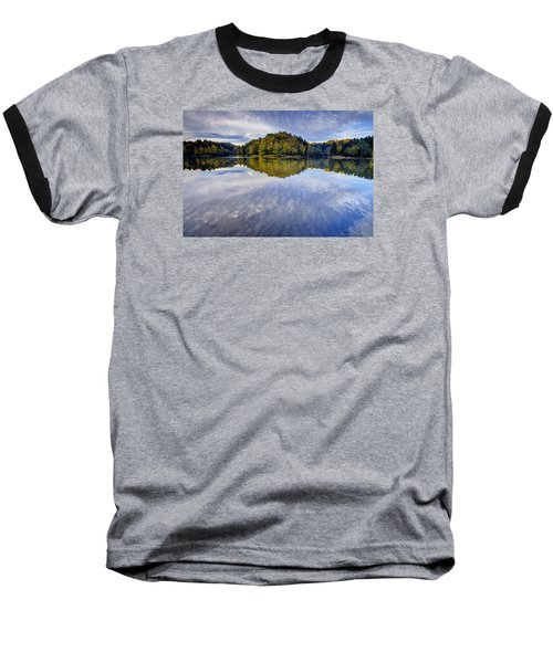 Trakoscan Lake In Autumn Baseball T-Shirt
