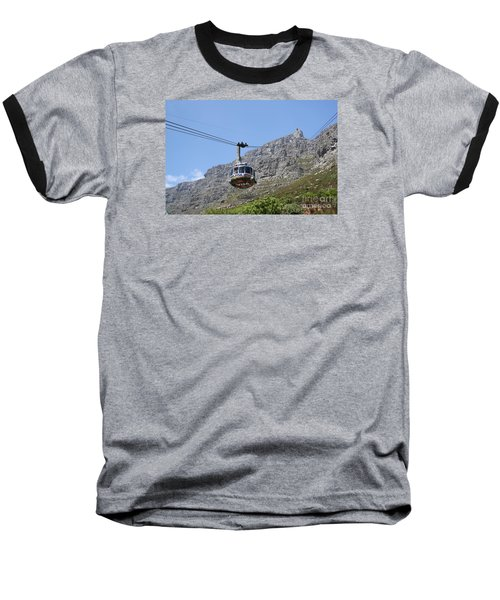 Tramway To Cable Mountain Baseball T-Shirt by Bev Conover