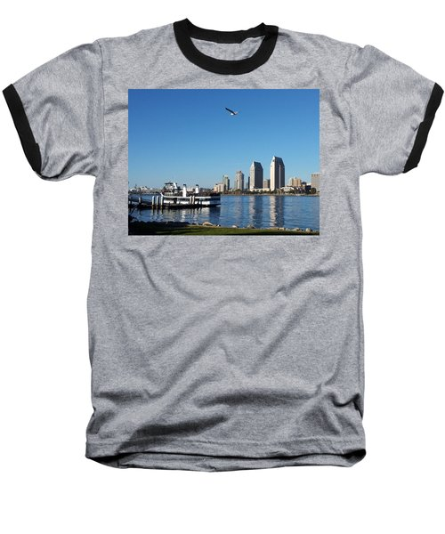 Tranquility By The Bay Baseball T-Shirt