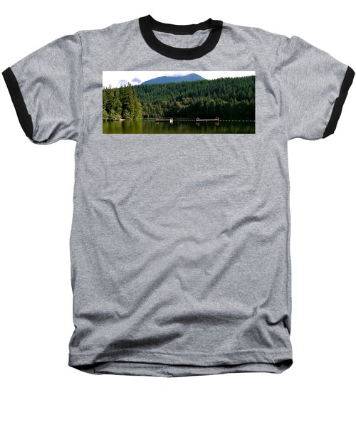 Tranquil Alice Lake Baseball T-Shirt
