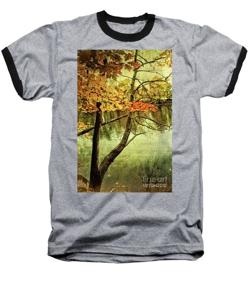 Tranquil Autumn Day Baseball T-Shirt